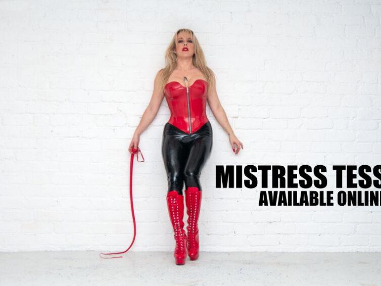 Milton Keynes Mistresses – Mistress Tess is available online now
